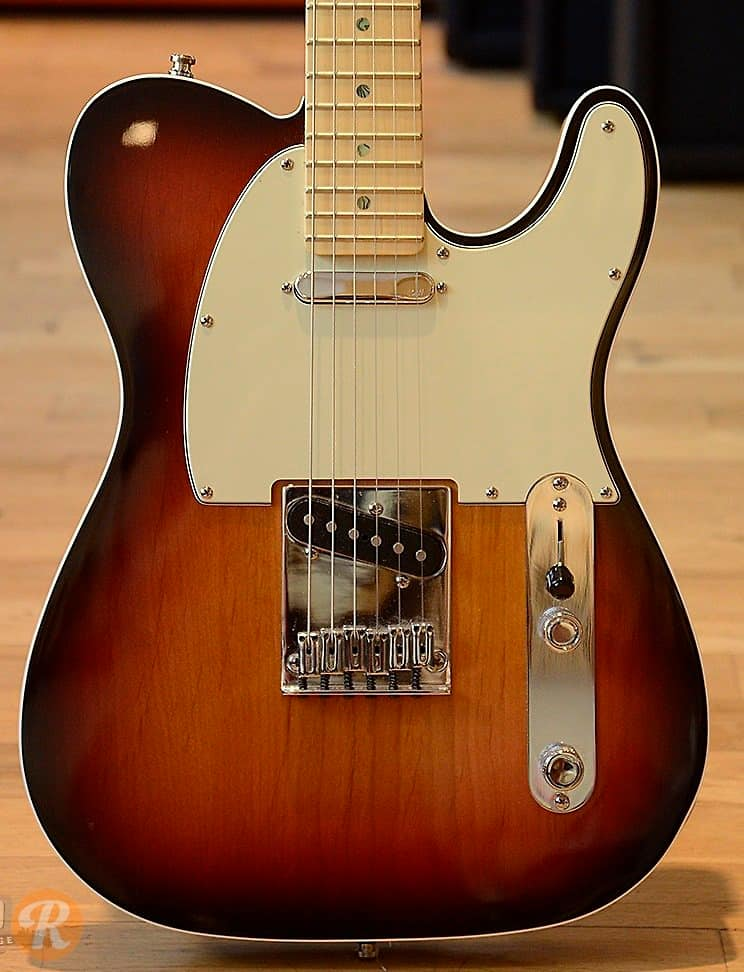 fender american deluxe telecaster 2007 sunburst price guide reverb. Black Bedroom Furniture Sets. Home Design Ideas