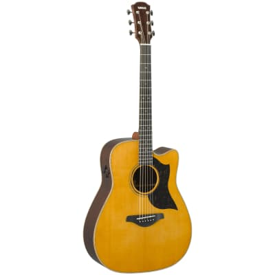 Yamaha A5R-VN Dreadnought with Electronics Vintage Natural