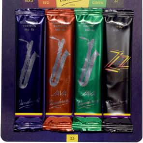 Vandoren SRMIXB25 Baritone Saxiphone Mix Car Reed Variety Pack - Strength 2.5