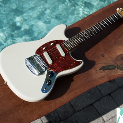 2008 Fender '65 Mustang Reissue  MG-65 VSP - Made in Japan - Upgraded Vintage 60's Circle D Ceramic Tone Cap for sale