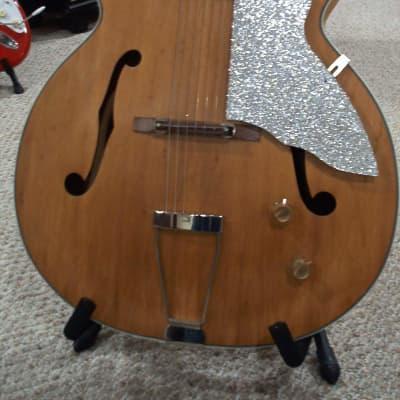 KAY Model 8980  UPBEAT 1957-1959 Natural  BARNEY KESSEL PICKUP for sale