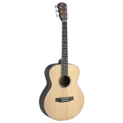 James Neligan ASY-ALH Solid Top Guitar Lefthanded, Natural, Inc Gig Bag for sale