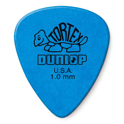 Dunlop 1.0mm Standard Tortex Pick (12-Pack)