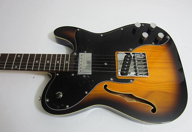 jay turser thinline tele style electric guitar jt ltcustom69 reverb. Black Bedroom Furniture Sets. Home Design Ideas