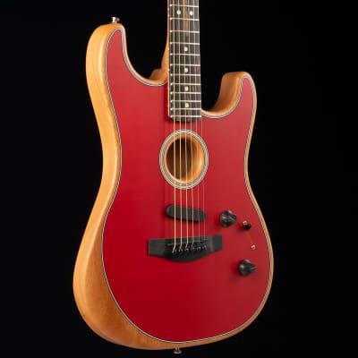Fender American Acoustasonic Stratocaster Dakota Red 849A