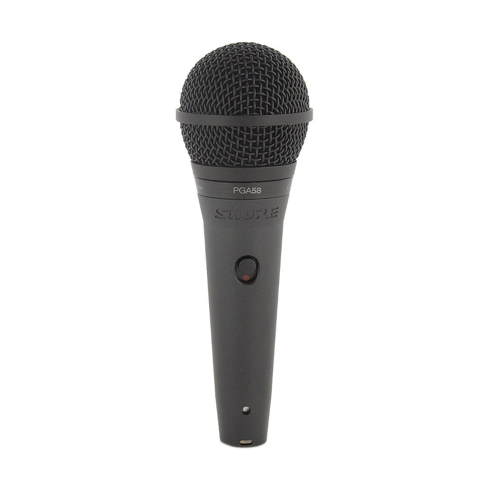 shure pga58 handheld dynamic vocal microphone reverb. Black Bedroom Furniture Sets. Home Design Ideas
