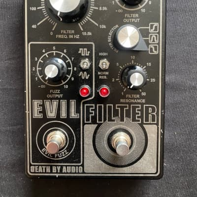 Death By Audio Evil Filter New in Box! Free Shipping!