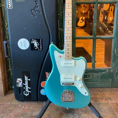 2016 Fender American Professional Jazzmaster Guitar - Mystic Seafoam w/ OHSC