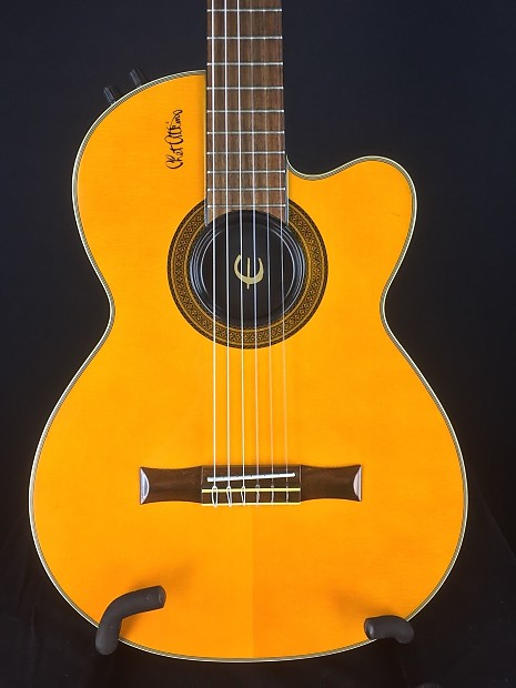 Dings And Dents >> Epiphone Chet Atkins CEC Classical Nylon String Guitar | Reverb