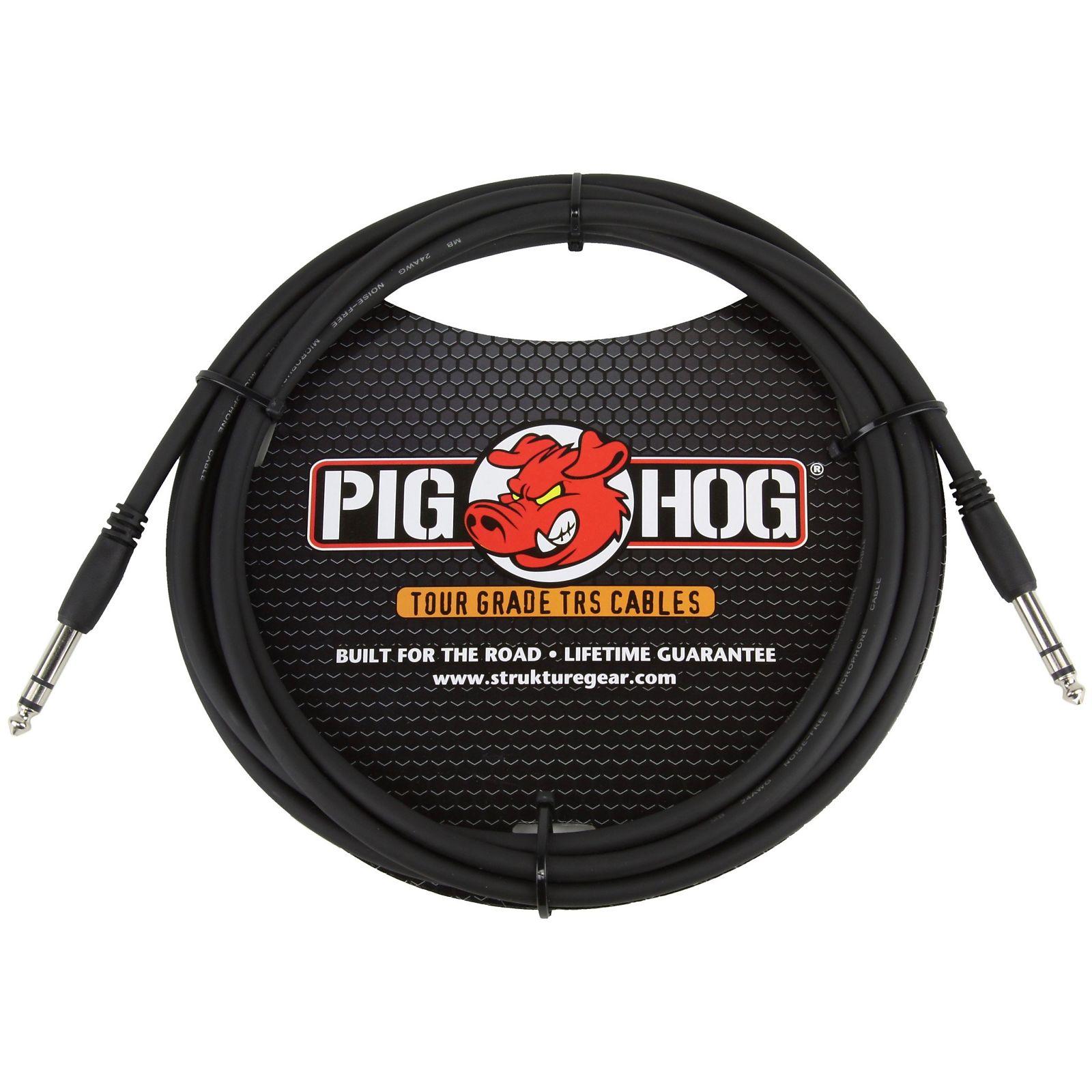 Pig Hog Tour Grade 15-foot, 8mm, balanced 1/4