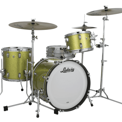 "Ludwig Classic Maple Downbeat Outfit 8x12 / 14x14 / 14x20"" Drum Set"