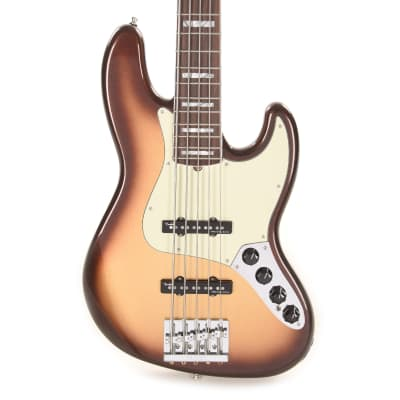 Fender American Ultra Jazz Bass V Mocha Burst for sale