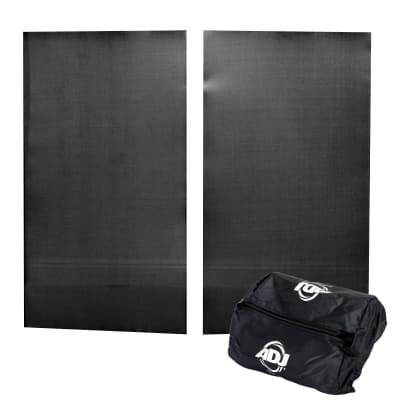 American DJ EVE500 Black Replacement Scrim for Event Facade II Pair