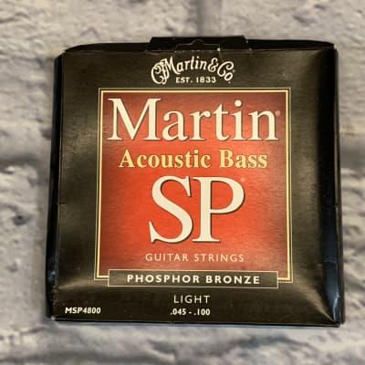 Martin SP Acoustic Bass Phosphor Bronze Light 45-100 Bass Strings