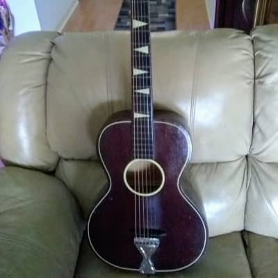 Telleno Parlor guitar 1940s Brown/Mahogany for sale