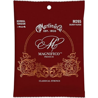 Martin M265 Normal Tension-Loop end-Silver Plated-Classical 2020 Maroon