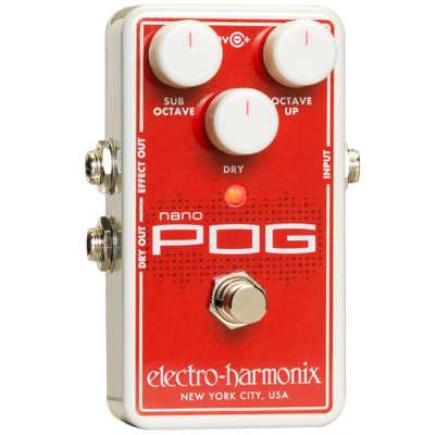 Electro-Harmonix Nano POG Polyphonic Octave Generator Guitar Effect Pedal