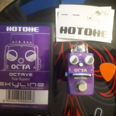 Hotone Skyline Octa Mini Octave Pedal for sale