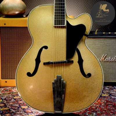 Hüttl Joker Archtop Guitar  1960s Gold Hammersmith for sale