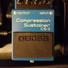 Boss CS-3 Compression Sustainer with free patch cable