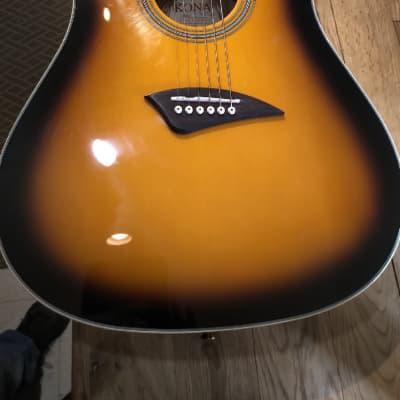 used Kona Lefthanded K2LTSB Acoustic Guitar with Pickup