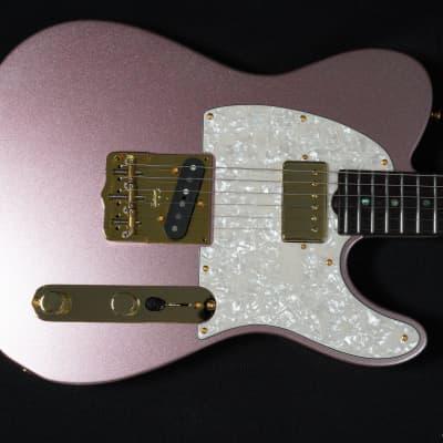 Grosh NOS Vintage T Champagne Pink Mini-Sparkle for sale