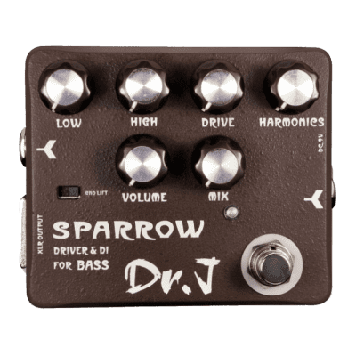 Joyo Dr J D53 Sparrow Driver & DI For BASS Guitar Effect Pedal Ships Free