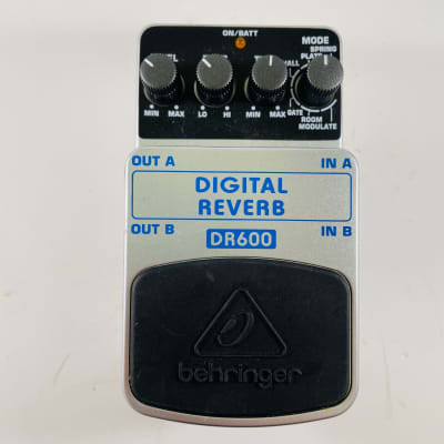 Behringer DR600 Digital Reverb Pedal *Sustainably Shipped*
