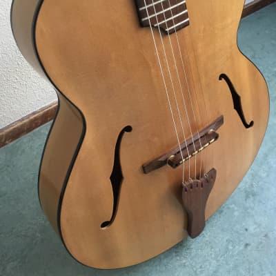 Slaman - Nylon String Jazz, Custom Acoustic Archtop Guitar (2009) for sale