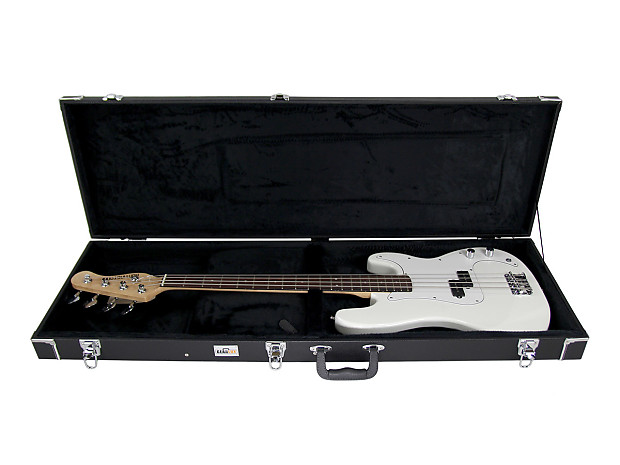 gearlux bass guitar hard case austin bazaar reverb. Black Bedroom Furniture Sets. Home Design Ideas