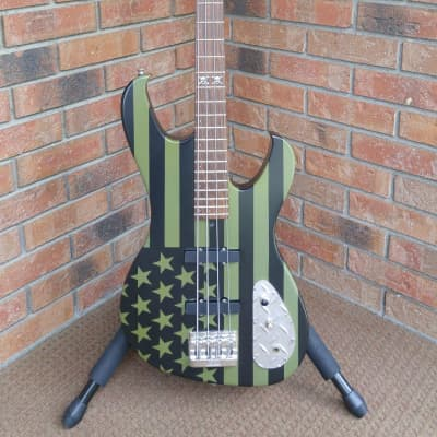 Custom Shop Washburn M-13 Owned by Frank of Filter like Peter Steele's M10 M12 from Type O Negative