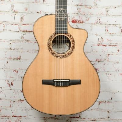 Taylor JMSM Jason Mraz Signature Model Grand Concert Acoustic-Electric Guitar Natural x1081 for sale