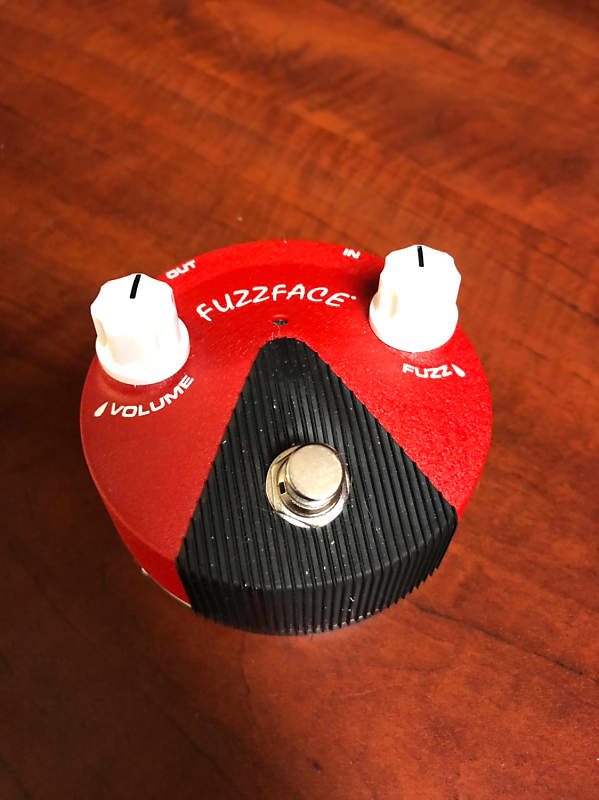 dunlop band of gypsys fuzz face mini marty 39 s gear reverb. Black Bedroom Furniture Sets. Home Design Ideas
