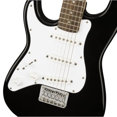 Squier Left-Handed Mini Stratocaster - Black