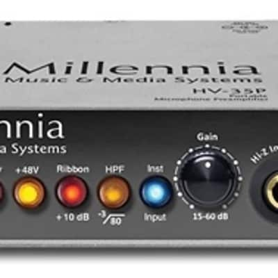 Millennia Media HV-35P Standalone Mic Preamp | New w/Warranty, Free Shipping from Atlas Pro Audio!