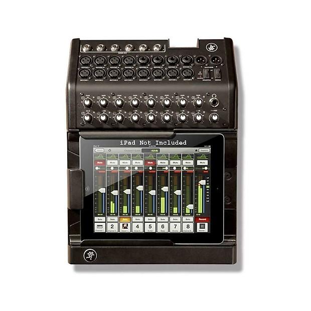 mackie dl1608 lightning 16 channel digital mixer w i pad app reverb. Black Bedroom Furniture Sets. Home Design Ideas