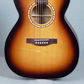 Simon & Patrick Songsmith Concert Hall Acoustic Guitar Semi-Gloss Burst