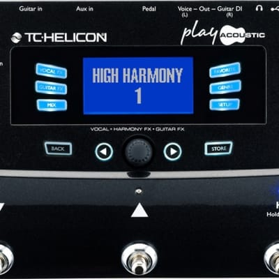 TC-Helicon Play Acoustic Guitar & Vocal Digital Multi-effect Pedal