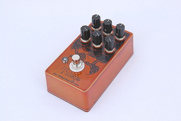 earthquaker devices talons high gain overdrive guitar pedal reverb. Black Bedroom Furniture Sets. Home Design Ideas