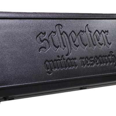 Schecter Guitar Research Diamond Series Molded Guitar Case, 1620 for sale