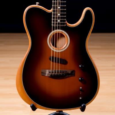 Fender American Acoustasonic Telecaster - Sunburst SN US198170