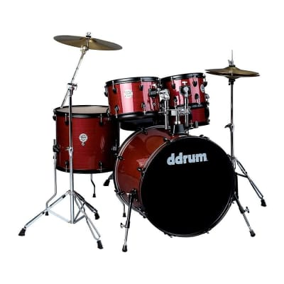 D2 Player Red Pinstripe Wrap/Blk hardwr, D2P RPS