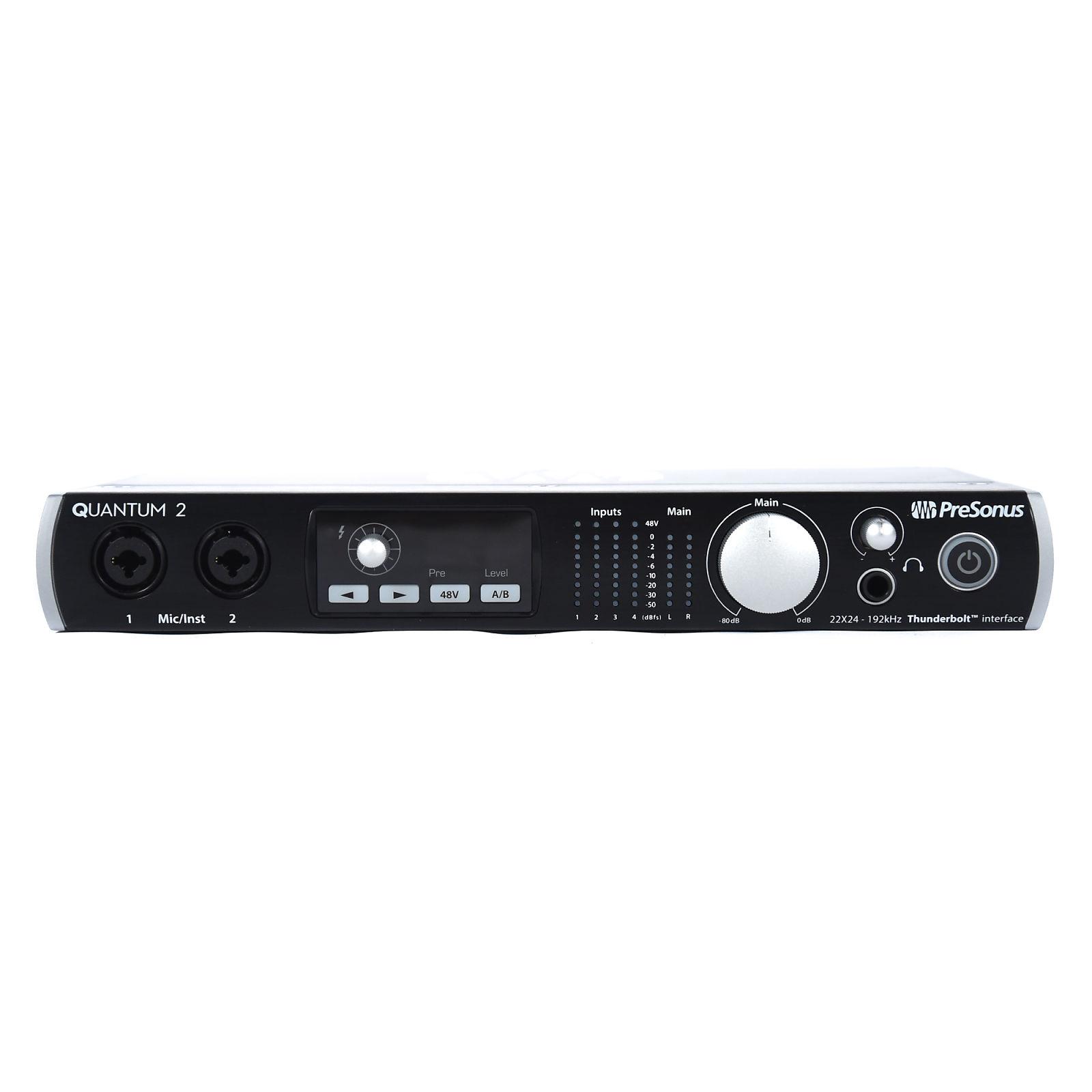 PreSonus Quantum 2 22x24 Thunderbolt 2 Audio Interface