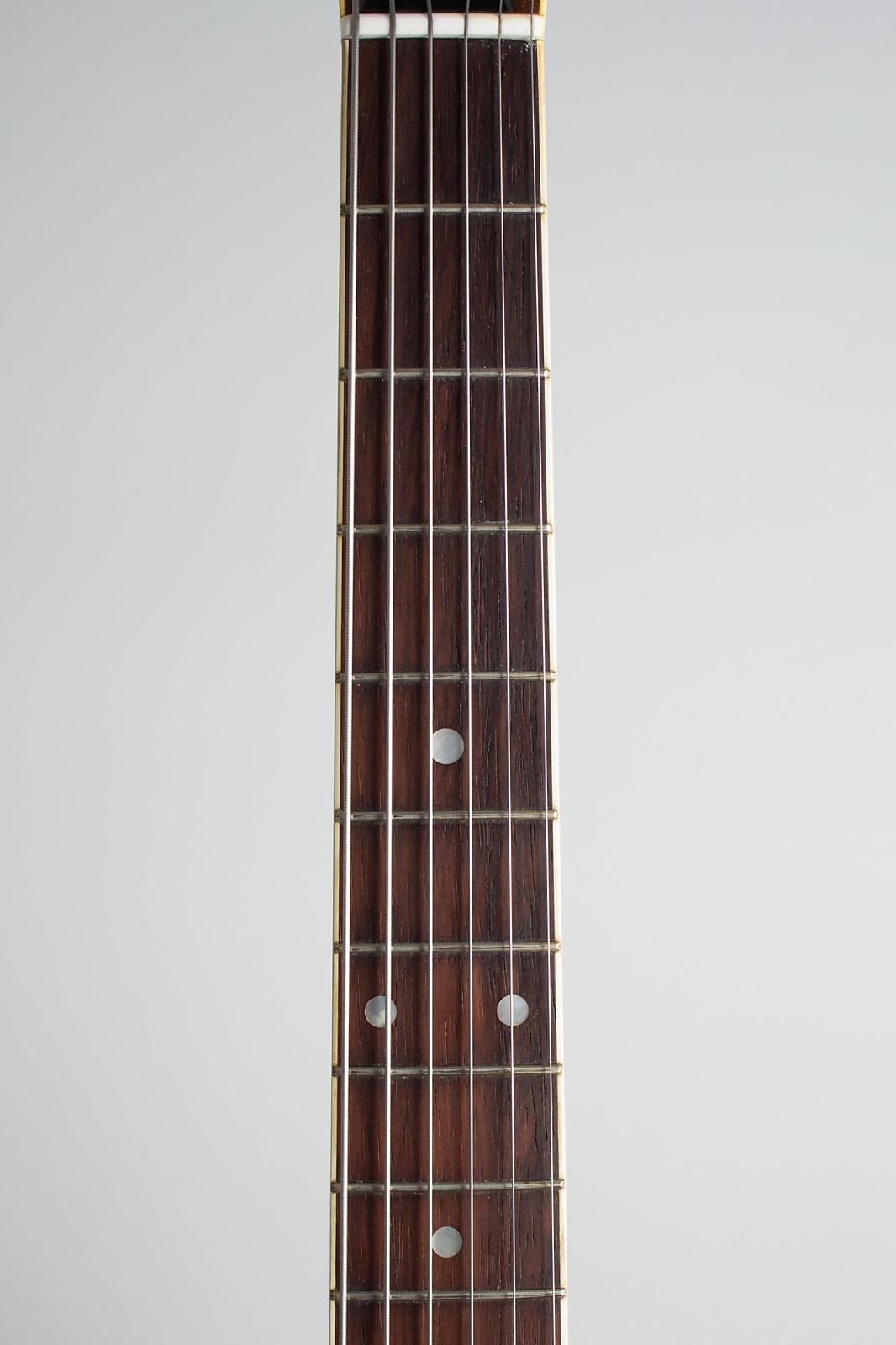 C. F. Martin  GT-75 Thinline Hollow Body Electric Guitar (1967), ser. #218537, original black hard shell case.