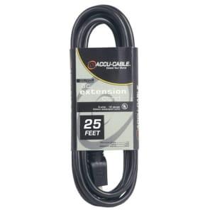 Accu-Cable EC-123-25 12-Gauge Pro Power Extension Cord - 25'