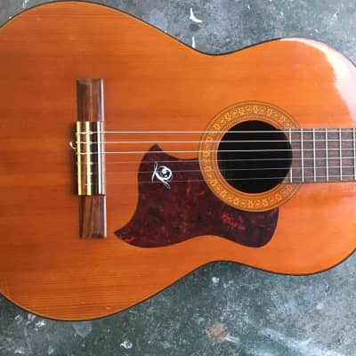 Kiso Suzuki Takeharu G-120 Spanish Classical Guitar Made in Japan 1970s for sale
