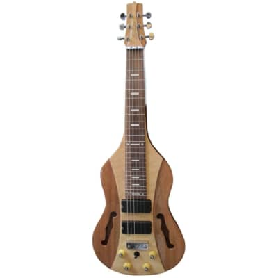 Vorson FLSL-220 Pro Lap Steel Guitar with F-Holes, Natural for sale