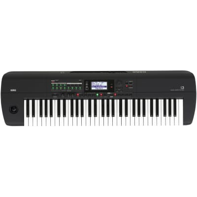 Korg i3 61-Key Workstation Keyboard with Onboard Sequencer and Effects