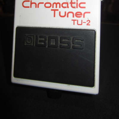 Circa 2005 Boss TU-2 Chromatic Tuner White