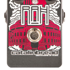 Catalinbread RAH Royal Albert Hall WIIO Overdrive pedal